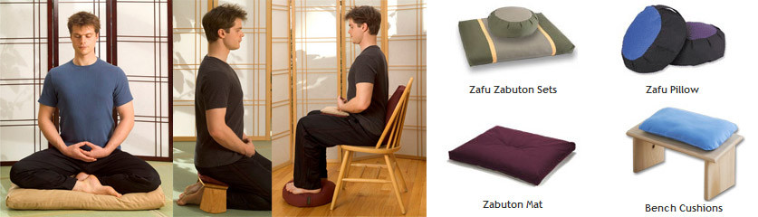 Different Styles of Meditation Cushions and Seating