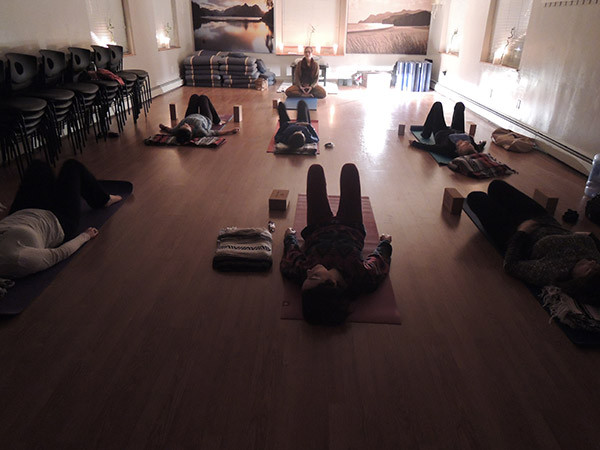 Gentle Relaxation Yoga Class at The Compassion Center