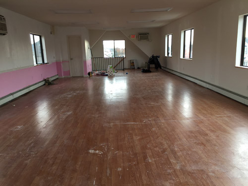 This was The Compassion Center Before It was Decorated