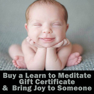 Buy a Meditation Gift Certificate