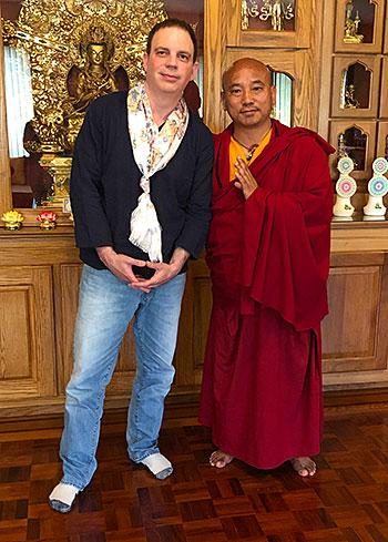 Dan Globus and Khenpo Karma Tenkyong
