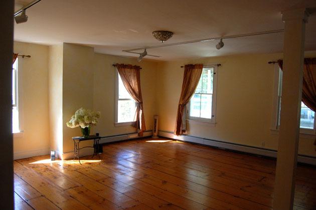 Euphoria Yoga Practice Room